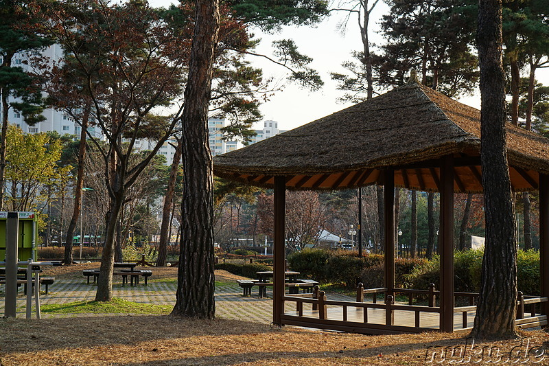 Sinaetmul Gongwon (시냇물공원) - Parkanlage in Bupyeong, Incheon, Korea
