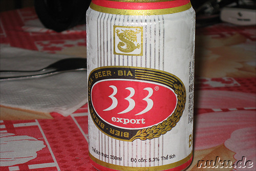 333 Export Beer - Vietnamesisches Bier