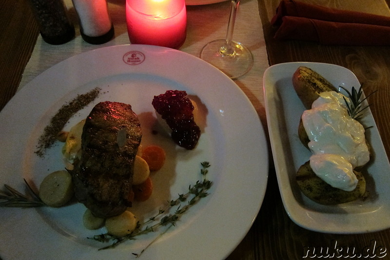 Aberdeen Angus Steakhouse in Pilsen, Tschechien