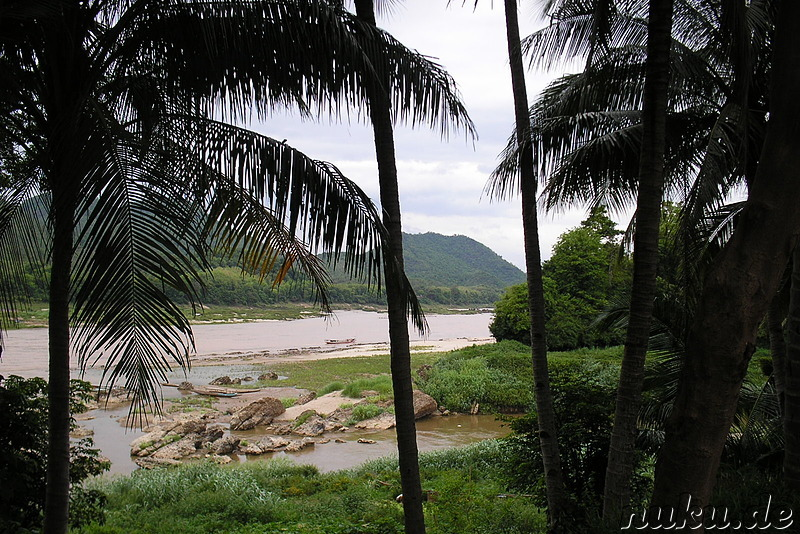 Am Mekong in Luang Prabang, Laos