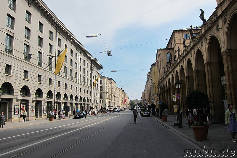 Am Nationaltheater in München