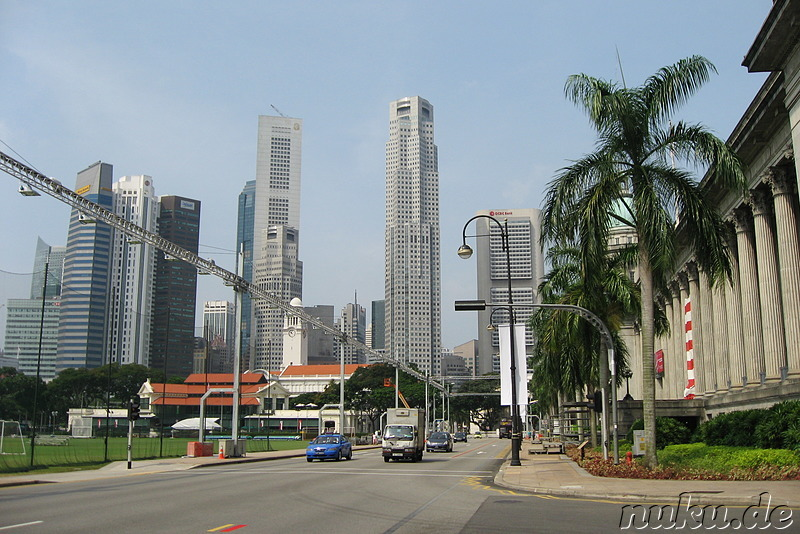 Am Padang in Singapur