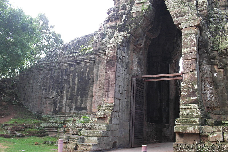 Angkor Thom South Gate (Rückseite)