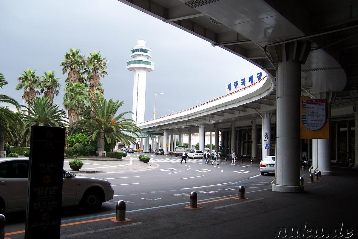 Flughafen Seoul Ankunft