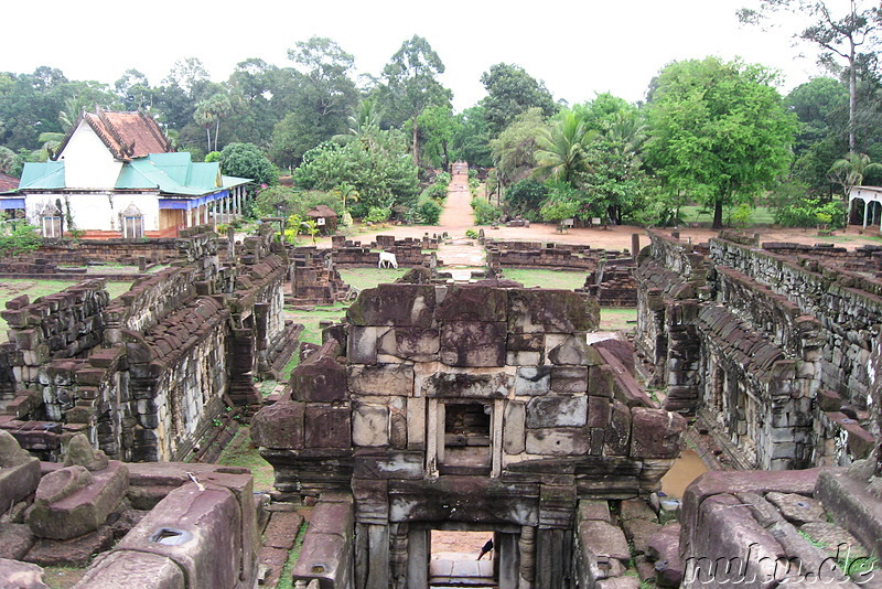 Bakong Tempel der Rolous Group in Angkor, Kambodscha