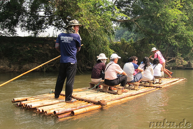 Bamboo Rafting in Chiang Mai, Thailand