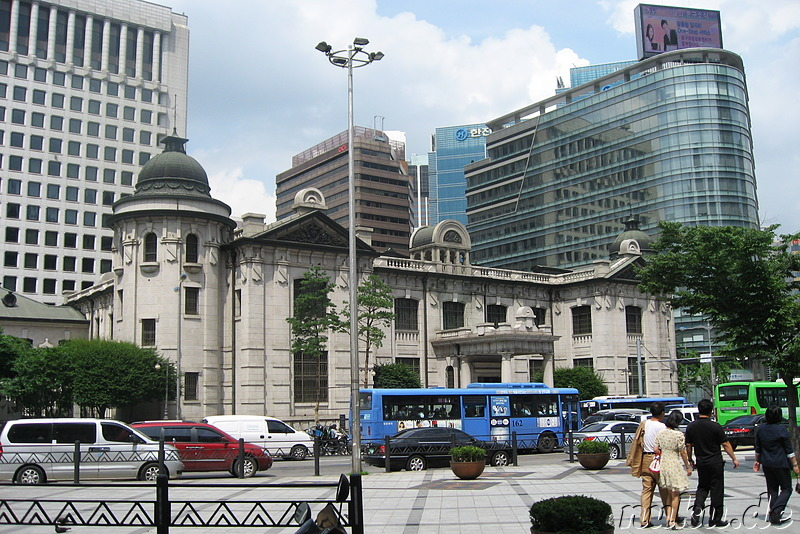 Bank of Korea Building, Seoul, Korea