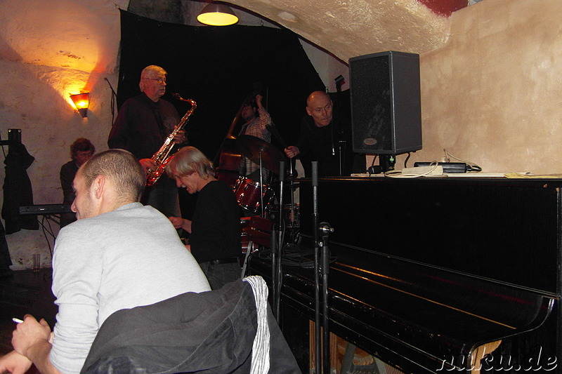Blue Sklep Jazz Club in Prag, Tschechien