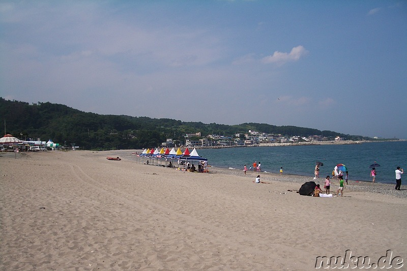 Bonggil Beach, Korea