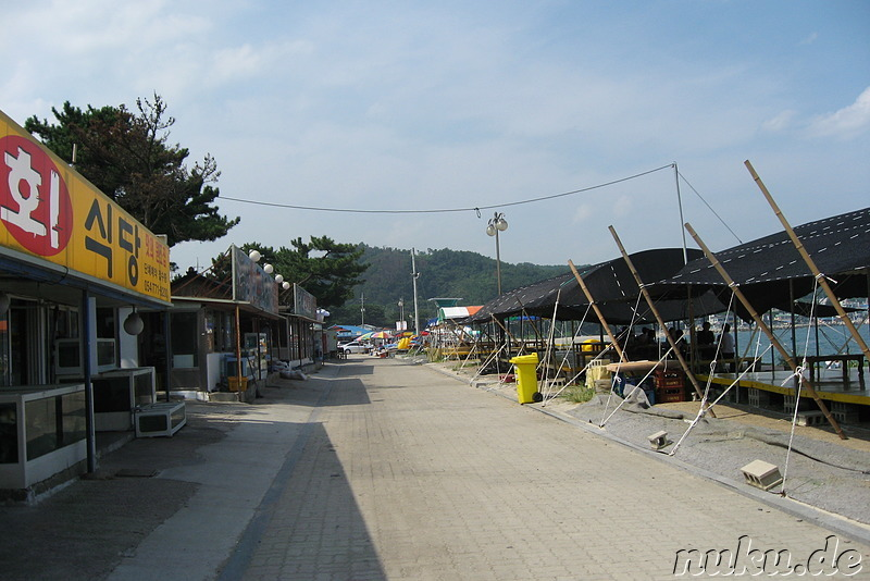 Bonggil Beach - Strand am Ostmeer in Korea