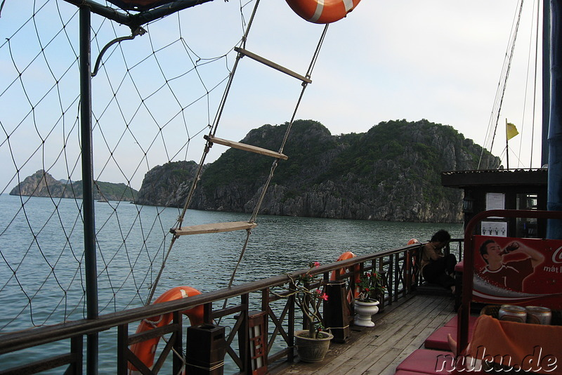 Boottrip in der Halong Bucht, Vietnam