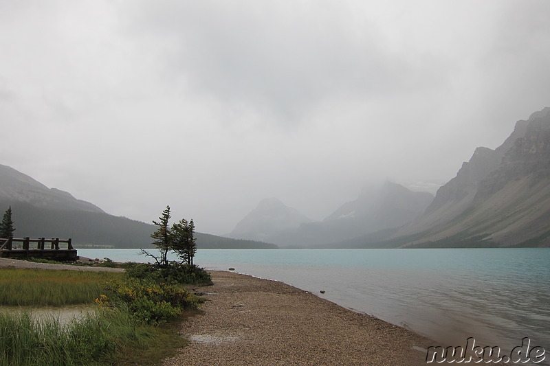 Bow Lake - See im Banff National Park, Kanada