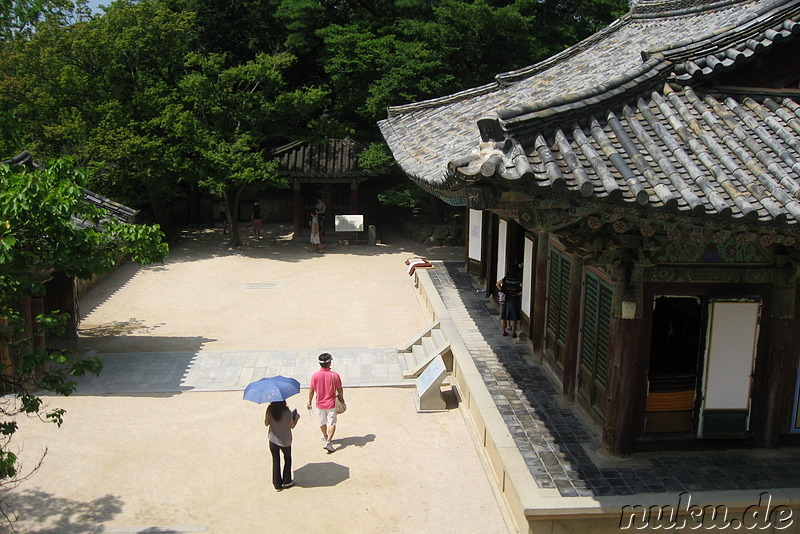 Bulguksa Tempel in Korea