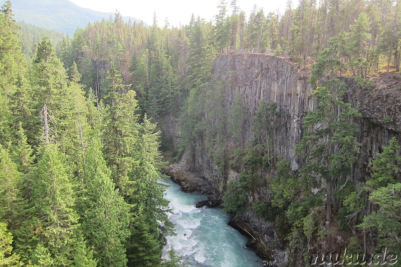 Bungee Jumping in Whistler, Kanada