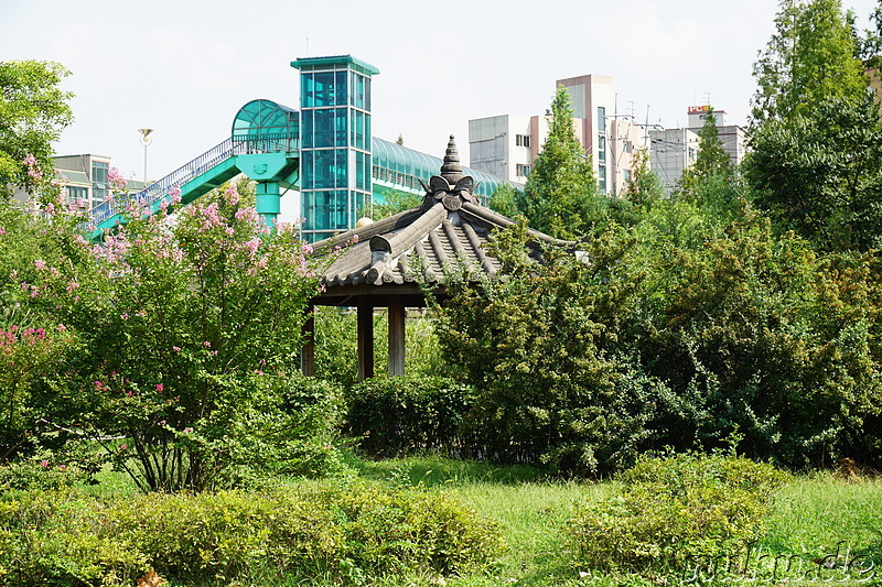 Bupyeong Park (부평공원) in Incheon, Korea