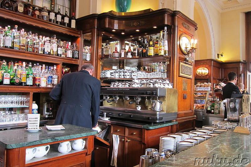 Cafe Gilli in Florenz, Italien