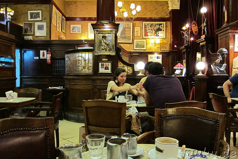 Cafe Tortoni in Buenos Aires, Argentinien