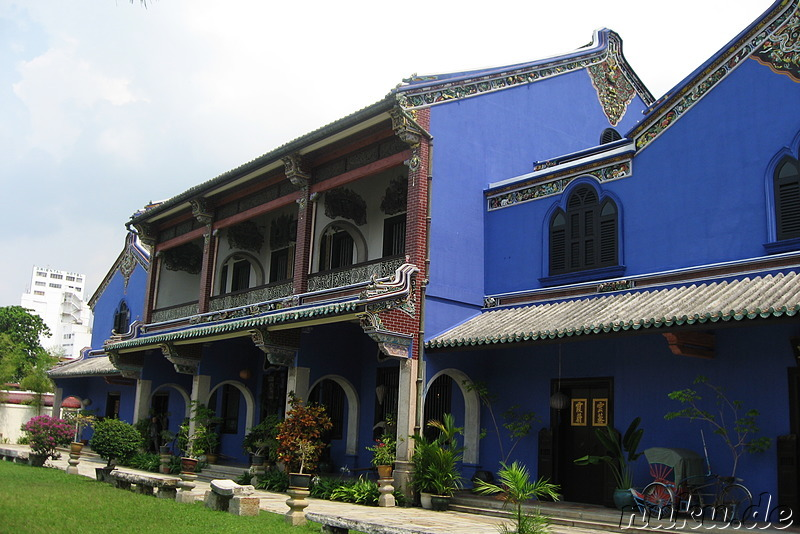 Cheong Fatt Tze Mansion in George Town, Pulau Penang, Malaysia
