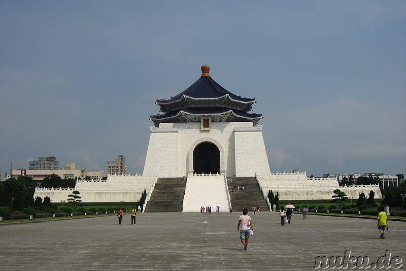 Chiang Kai-Shek Memorial Hall in Taipei, Taiwan