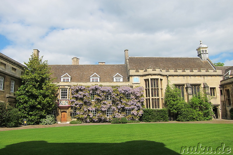 Christ College in Cambridge, England