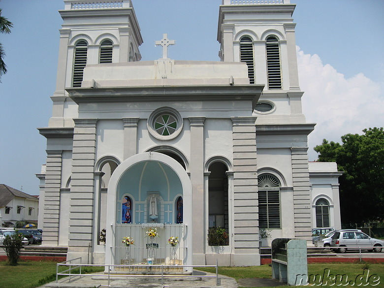 Church of the Assumption in George Town, Pulau Penang, Malaysia