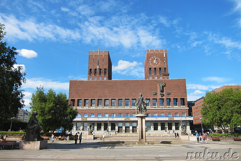 City Hall - Rathaus in Oslo, Norwegen