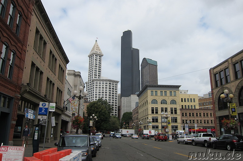 Columbia Center in Seattle, U.S.A.