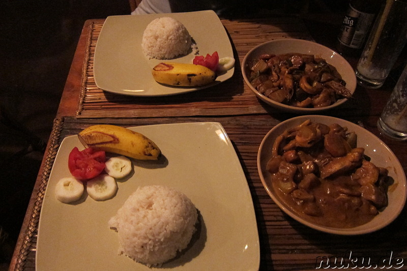 Curry im Restaurant Balay Tubay in El Nido, Palawan, Philippinen