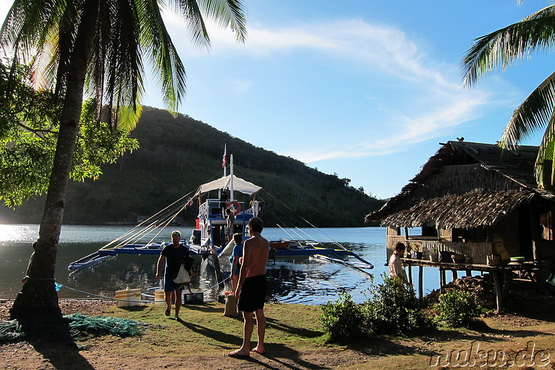Das vierte Camp der Expedition mit Tao Philippines