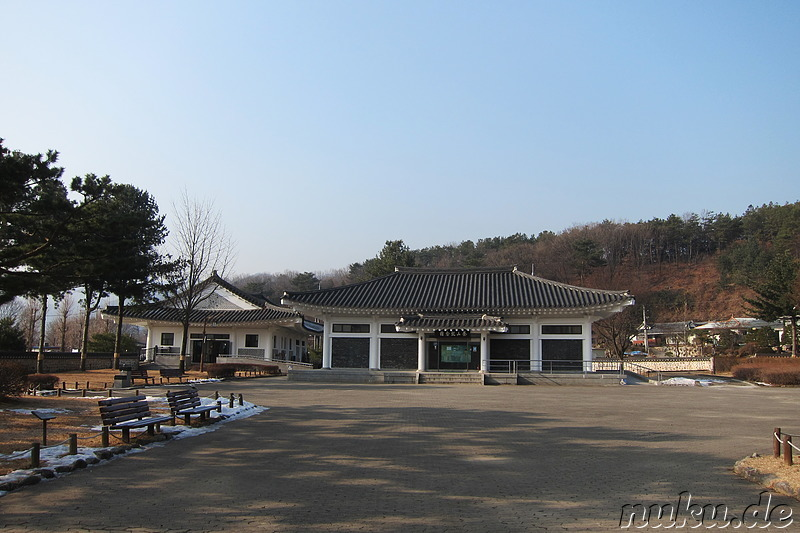 Dasan Historic Site in Namyangju, Korea