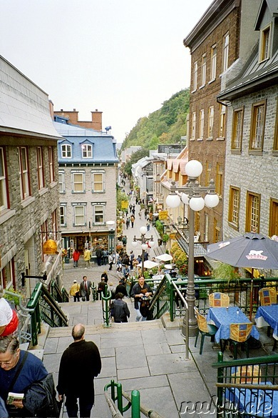 Erkundungstour durch Quebec City, Kanada