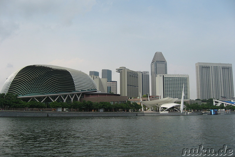 Esplanade Theatres on the Bay, Singapur