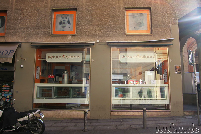 Gelateria Gianni in Bologna, Italien