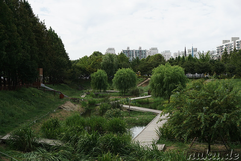 Gulpo Park in Bupyeong, Incheon, Korea