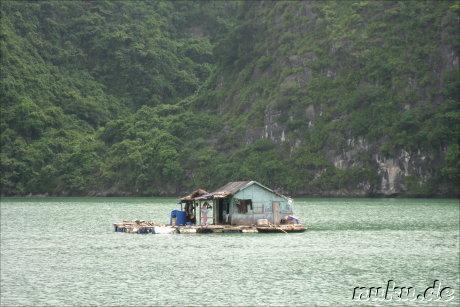 Hausboot in Halong Bay, Vietnam