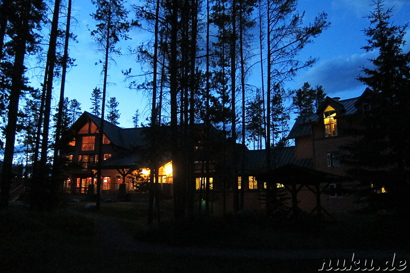 HI Lake Louise Hostel im Banff National Park, Kanada