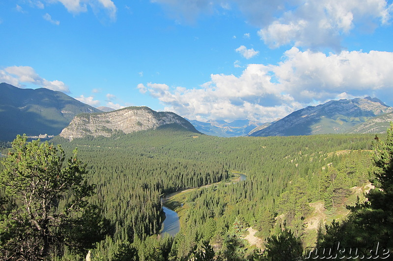 Hoodoos Trail - Wanderweg im Banff National Park in Alberta, Kanada