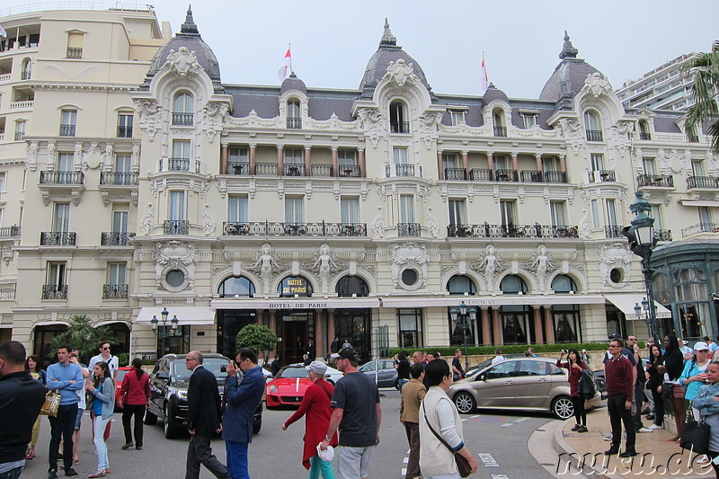 Hotel de Paris am Casino Monte Carlo in Monaco