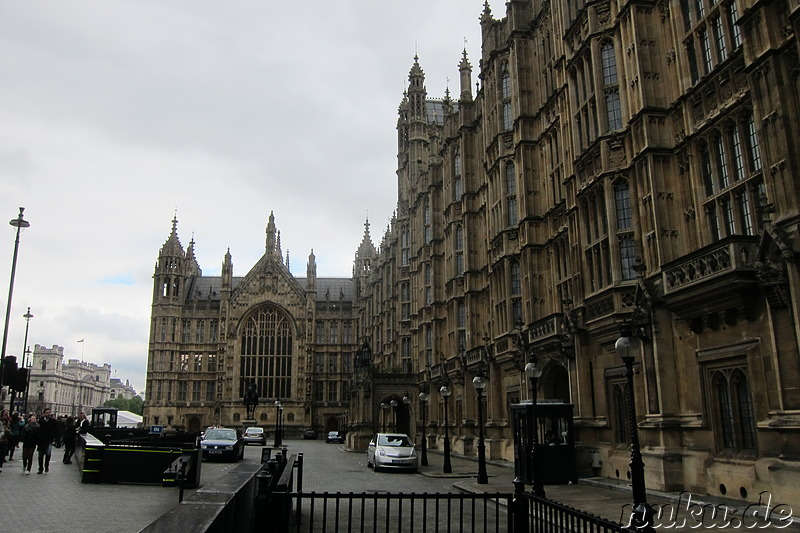 Houses of Parliament und Big Ben in London, England