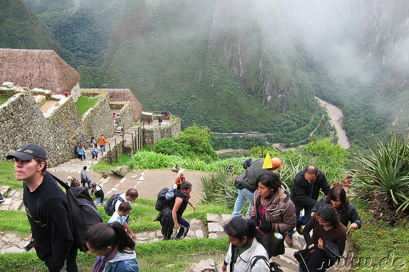 Hut of the Caretaker of the Funerary Rock, Machu Picchu, Peru