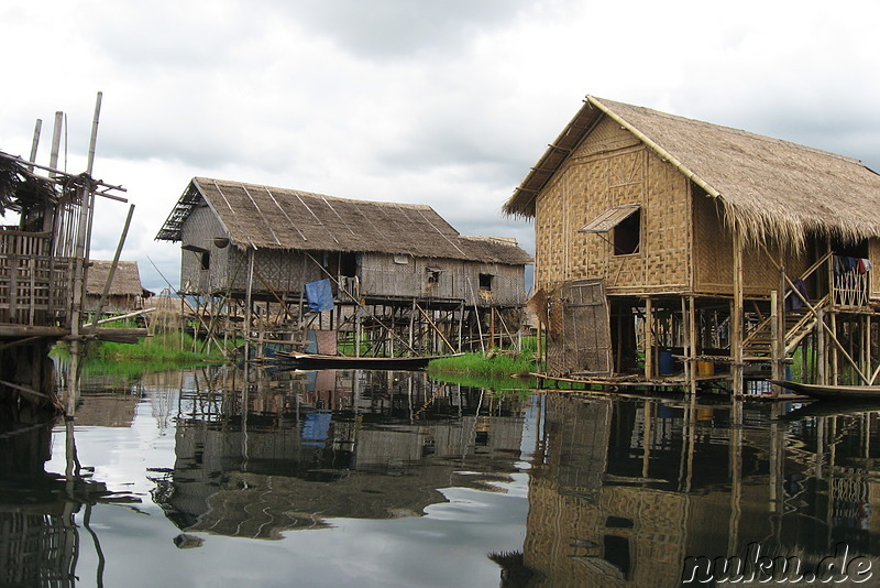 In Phaw Khone Stilthouse Village, Inle Lake, Myanmar