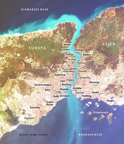 Istanbul - Metropole auf zwei Kontinenten - Istanbul