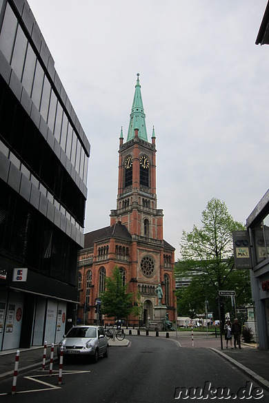 Johanneskirche am Martin-Luther-Platz in Düsseldorf