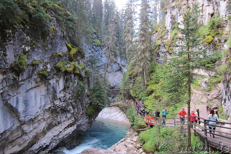 Johnston Canyon im Banff National Park, Kanada