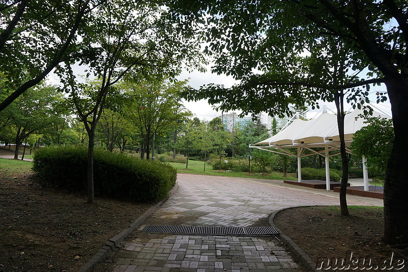 Jungang Park (중앙공원) in Incheon, Korea