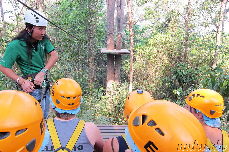 Jungle Flight (Flight of the Gibbon) in Chiang Mai, Thailand