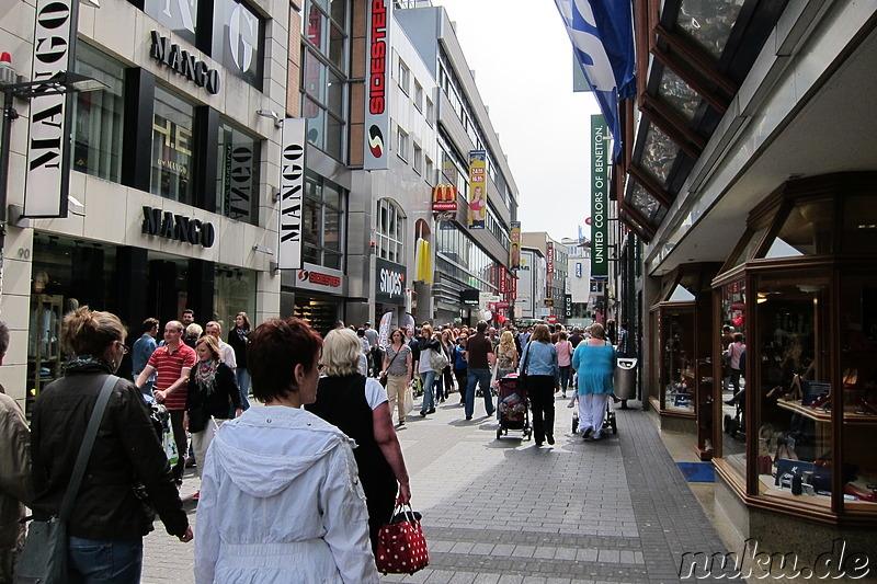 Kölner Innenstadt& Fussgängerzone Köln, Nordrhein