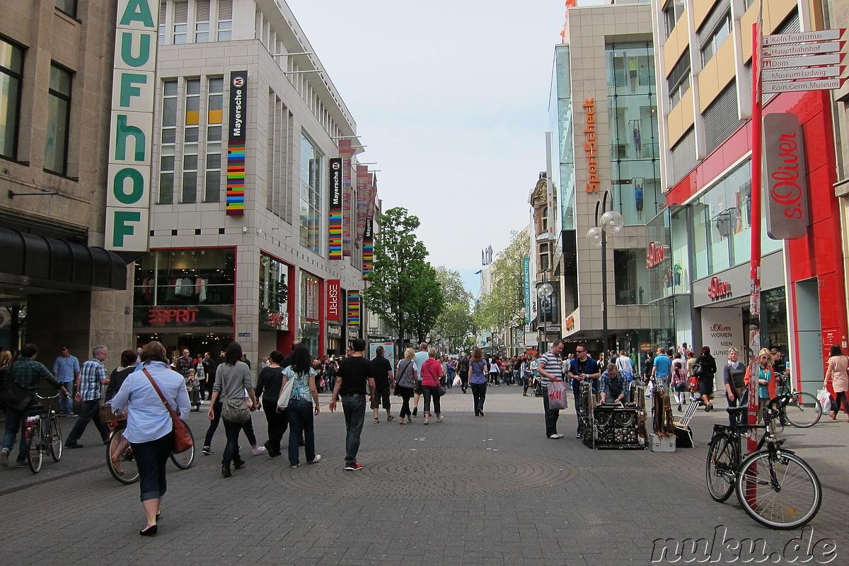 Fußgängerzone Köln