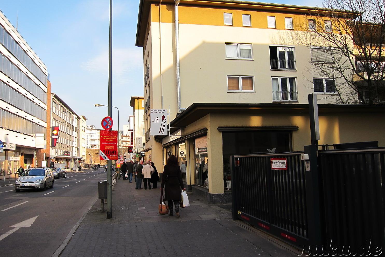 Koreanische Restaurants Frankfurt