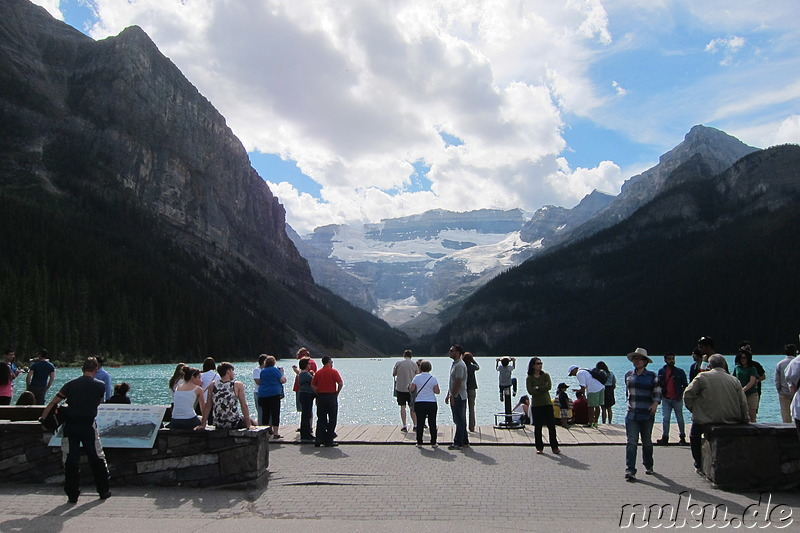 Lake Louise - See im Banff National Park in Alberta, Kanada